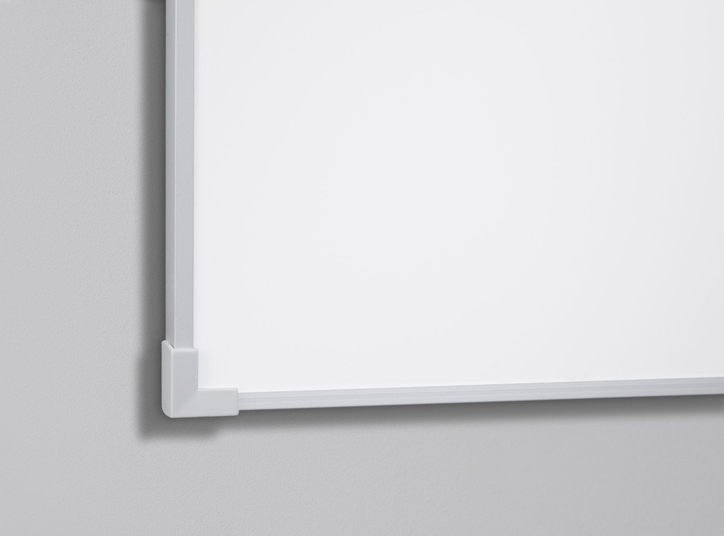 Boarder Whiteboard, naturanodiserad ram 455 x 605